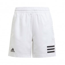 ADIDAS CLUB 3STRIPE SHORT GK8183 WHITE BOYS TENNIS