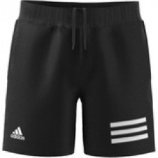 ADIDAS CLUB 3STRIPE SHORT GK8184 BLACK BOYS TENNIS