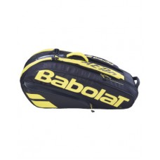 BABOLAT PURE AERO 2021 6PACK YELLOW TENNIS BAG