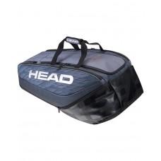 HEAD DJOKOVIC MONSTERCOMBI 12PACK 283061 WHITE/BLACK TENNIS BAG