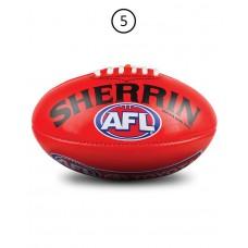 SHERRIN AFL PVC SIZE-5 RED