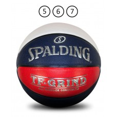 SPALDING TF GRIND BASKETBALL RED/WHTE/BLUE