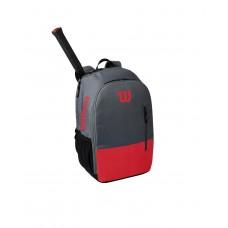 WILSON TEAM BACKPACK 800990 RED/GREY TENNIS BAG