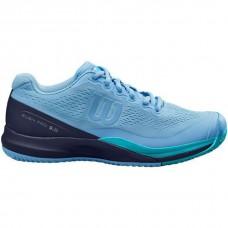 WILSON RUSH PRO 3.0 ALLCOURT  S32475 BLUE LADIES TENNIS SHOE