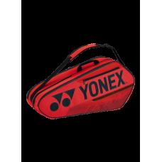 YONEX TEAM 6PACK BA42126EX RED TENNIS BAG