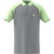 ADIDAS CLUB POLO EC3588 GLOW GREEN BOYS TENNIS POLO