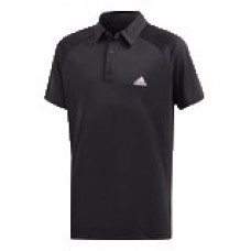ADIDAS CLUB POLO FK7152 BLACK BOYS TENNIS SHIRT