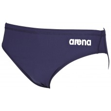 ARENA SOLID BRIEF 2A254-75 NAVY MENS SWIMSUIT