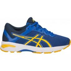 ASICS GT-1000 6 GS C740N-4504 BLUE BOYS RUNNING SHOE