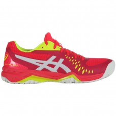 ASICS GEL CHALLENGER 12 1042A041-705 LASER PINK LADIES TENNIS SHOE