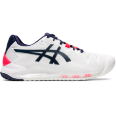 ASICS GEL RESOLUTION 8 1042A072-103 WHITE LADIES TENNIS SHOE