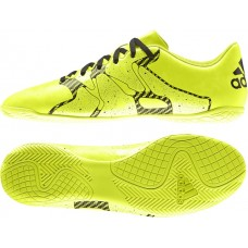 ADIDAS X 15.4 INDOOR B26935 YELLOW MENS INDOOR SHOE