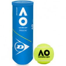 DUNLOP AUST OPEN 3BALL TENNIS BALL TIN