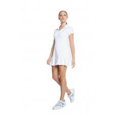 ELEVEN SWING DRESS CP6294-100 WHITE PIQUE RANGE