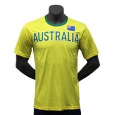 KELME NATION JERSEY T-SHIRT AUSTRALIA YELLOW