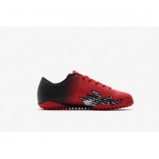 LEOCI PURGATORY TF RED/BLACK JUNIOR TURF SHOES