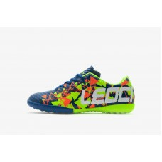 LEOCI TANGRAM BLUE/ORANGE/YELLOW MENS TURF SHOE