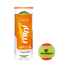 TECNIFIBRE MINI ORANGE 3BALL TENNIS BALL