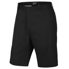 NIKE FLAT SHORT GOLF SHORT BLACK MENS 743964-010