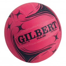 GILBERT PULSE SIZE-4 JUNIOR NETBALL PINK