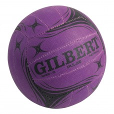 GILBERT PULSE SIZE-4 JUNIOR NETBALL PURPLE