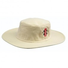 GRAY NICOLLS CRICKET SUNHAT OFF-WHITE