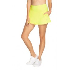 """ELEVEN FLY SKIRT 13"""" LIME LADIES TENNIS"""