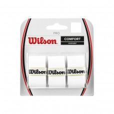 WILSON PRO OVERGRIP 3PACK WHITE