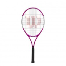 "WILSON ULTRA PINK 25"" JUNIOR STRUNG TENNIS RACQUET"