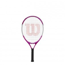 "WILSON ULTRA PINK 21"" JUNIOR STRUNG TENNIS RACQUET"