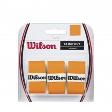 WILSON PRO O/GRIP 3PK BURN