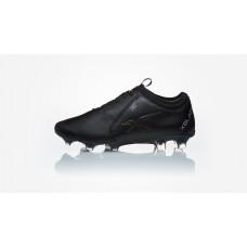 XBLADES JET BLACK/BLACK 4E KANGAROO LEATHER  MENS FOOTBALL BOOT