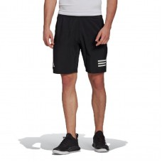 ADIDAS CLUB 3STRIPE SHORT  GL5411 BLACK MENS TENNIS
