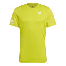 ADIDAS CLUB 3STRIPE  TEE GL5402 ACID YELLOW MENS TENNIS