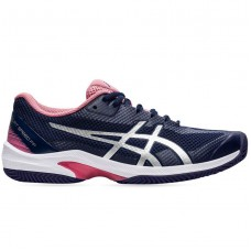 ASICS COURT SPEED FF CLAY 1042A081-403 PEACOAT LADIES TENNIS SHOE