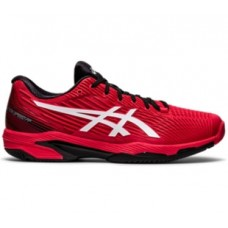 ASICS SOLUTION SPEED FF 2 1041A182-601 ELECTRIC RED MENS TENNIS