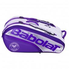 BABOLAT PURE WIMBLEDON 12PACK 2021 TENNIS BAG