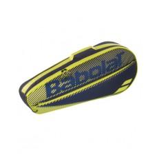 BABOLAT CLUB ESSENTIAL  3 PACK  BLACK/YELLOW TENNIS BAG