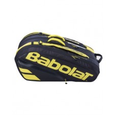 BABOLAT PURE AERO 2021 12PACK YELLOW TENNIS BAG