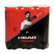 HEAD CHAMPIONSHIP NOVAK TRIPACK 3 X 3BALL PACK