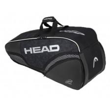 HEAD DJOKOVIC COMBI 6PACK 283060 BLACK TENNIS BAG