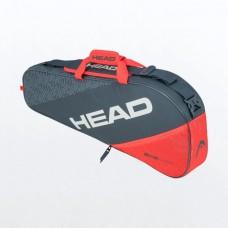 HEAD ELITE PRO 3PACK 283560 GREY/ORANGE TENNIS BAG
