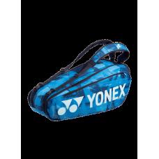 YONEX PRO 6PACK  BA92026EX  WATER BLUE TENNIS BAG