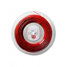 WILSON REVOLVE TWIST 1.30MM  200M RED TENNIS STRING