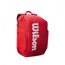 WILSON SUPER TOUR BACKPACK WR8010901001 RED TENNIS BAG