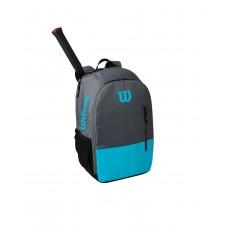 WILSON TEAM BACKPACK 800990 BLUE/GREY TENNIS BAG