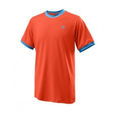 WILSON COMPETITION CREW 781801 TANGERINE BOYS TENNIS