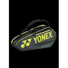 YONEX TEAM 6PACK BA42126EX BLACK TENNIS BAG
