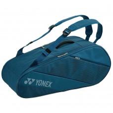 YONEX ACTIVE 6PACK BA82026EX PEACOCK BLUE TENNIS BAG