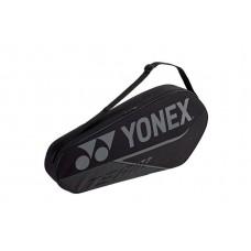 YONEX TEAM 3PACK BA42023 BLACK TENNIS BAG